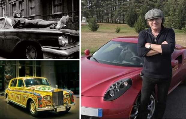 Бунтарский дух: Автомобили, которые выбирали для себя рок-звезды