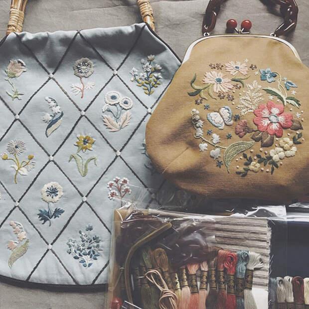 Фото - 19 Невыносимая нежность бытия: потрясающая вышивка Wakako Horai
