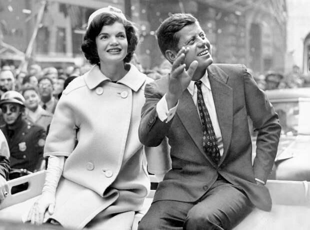Жаклин и Джон Кеннеди. \ Фото: google.com.