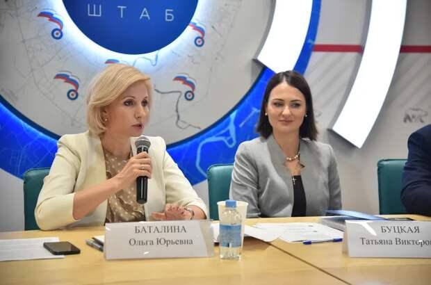 Буцкая и Баталина дали разъяснения по новым мерам поддержки семей с детьми / Фото: Ольга Крылова