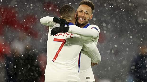Мбаппе и Неймар включены в команду недели Лиги чемпионов
