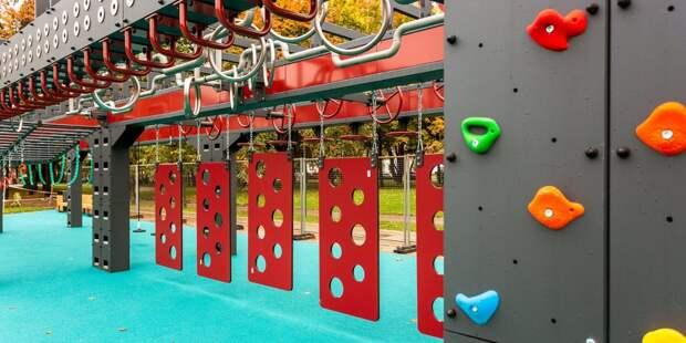 В парке «Яуза» появится уникальная площадка для воркаута в стиле «русский ниндзя»