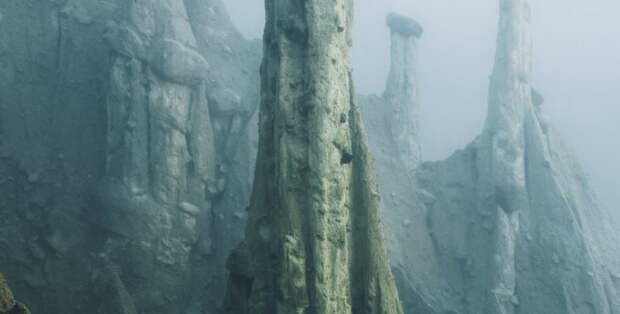 Инопланетные Земляные столбы