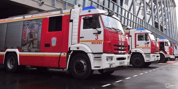 Пожар в доме на бульваре Яна Райниса ликвидирован