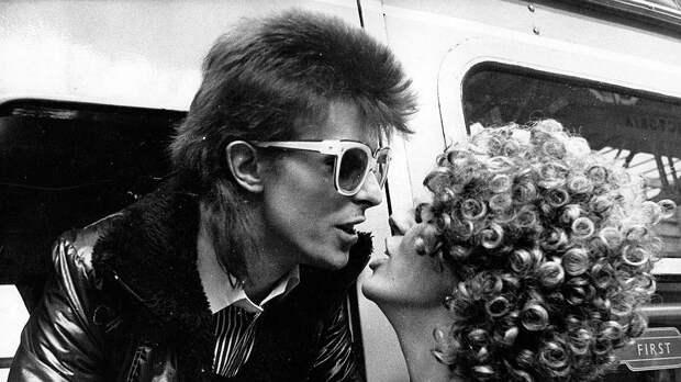 Дэвид и Анджела Боуи, 1973 год