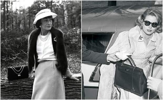 Как появились женские сумочки, и какие сумки носили Коко Шанель и другие известные дамы
