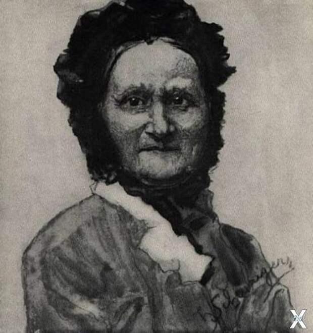 Мать Томаша Гарика Масарика