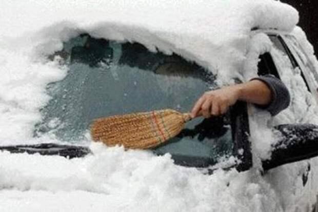 Смешные зимние фото