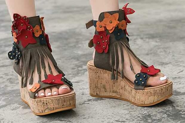Туфли на платформе: Как и с чем носить