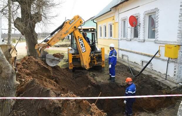 Жителям Тверской области до границы участка газ подведут бесплатно