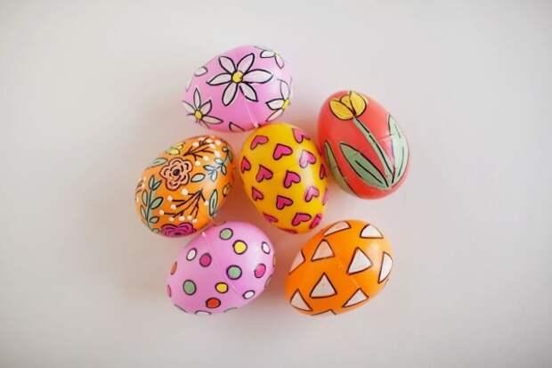 Креативные идеи украшения яиц на Пасху