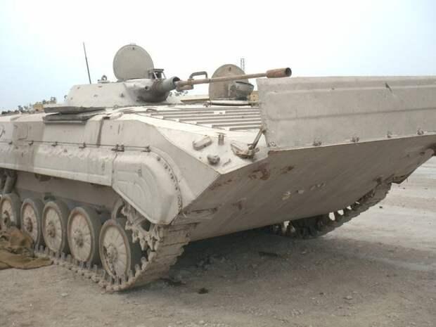 «РГ»: в Ираке против террористов применили БМП-1 с 23-мм пушкой