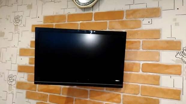 Как смастерить поворотный кронштейн для телевизора за сущие копейки