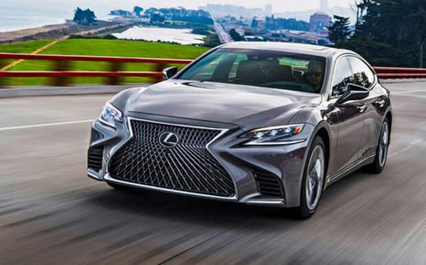 Новый Lexus LS – тест-драйв ЗР
