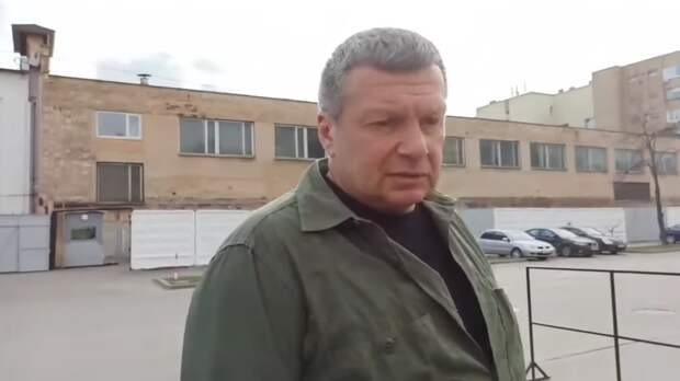 Владимир Соловьёв в начале беседы