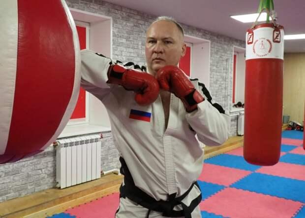 Борец из Митина победил на чемпионе России по тхэквондо