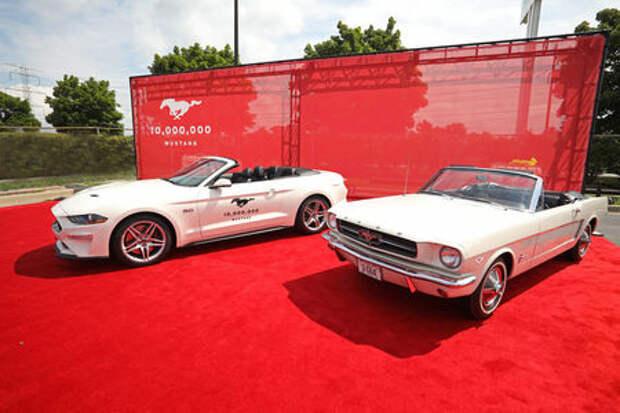Ford Mustang – есть 10 000 000!