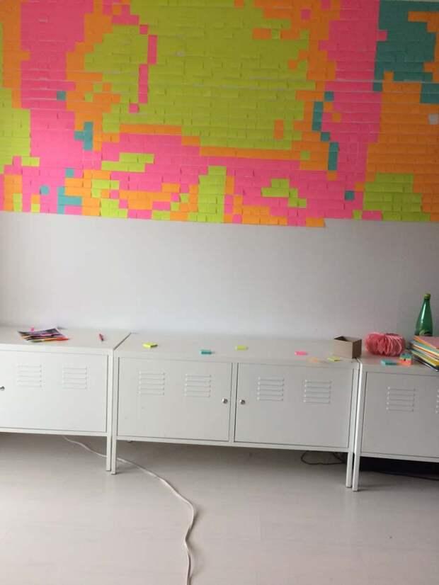 как украсить стену на праздник