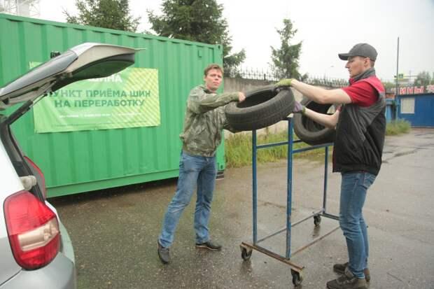 Вы будете сдавать старые шины в пункт приёма на Живописной? – новый опрос