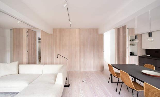 Идеальный порядок: утонченная светлая квартира в Лондоне