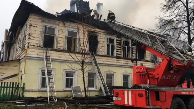В Ярославской области пожар унес жизни пяти детей