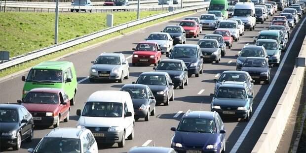 Утренние дорожные затруднения. Фото: Mos.ru