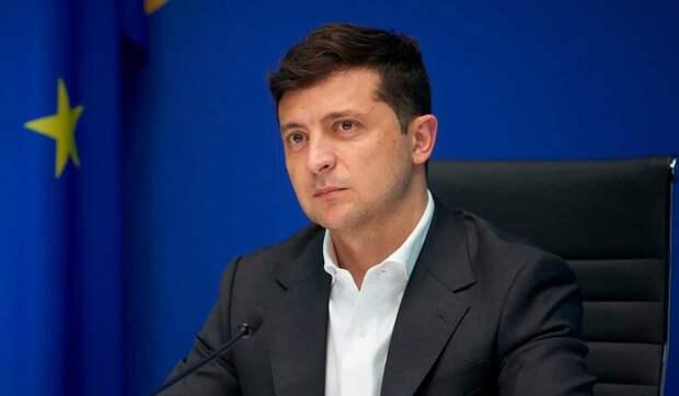 Зеленский помечтал об украинском флаге над Донецком и Севастополем