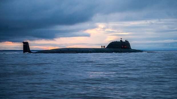 В Северодвинске состоялась церемония спуска на воду атомной подлодки «Красноярск»