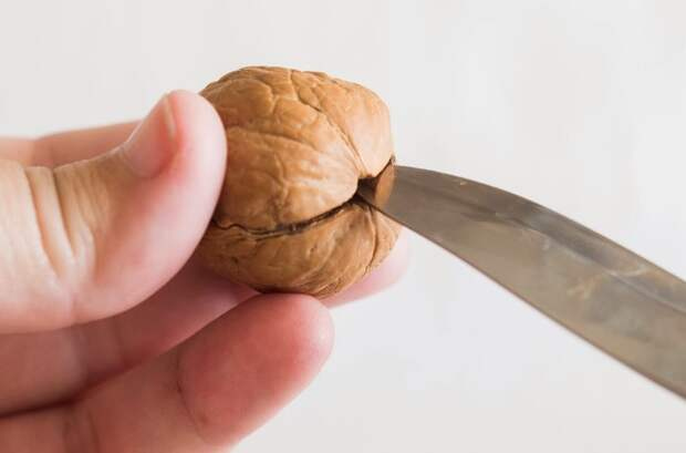 Вставьте нож между скорлупками и прокрутите / Фото: 1.bp.blogspot.com