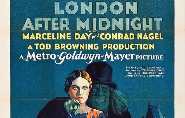 Единственная сохранившаяся афиша немого фильма ужасов ушла с молотка за $478 тыс.