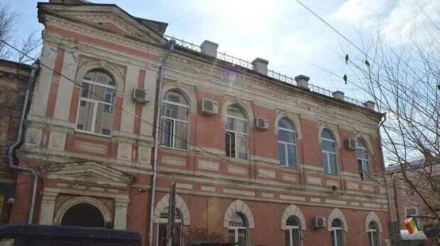 Исторические здания вРостове отдадут варенду порублю заквадратный метр
