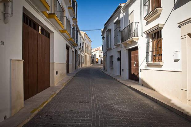 Прогулка по белому городку в Севилье