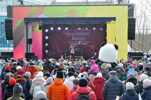 Годовщину воссоединения Крыма с Россией отпразднуют в Удмуртии