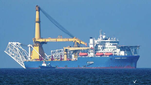 """СМИ: способное достроить """"Северный поток — 2"""" судно сменило владельца"""