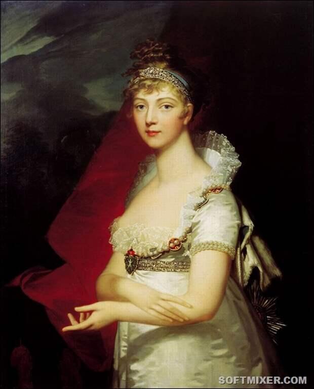 ГД Елизавета Алексеевна жена Александра 1