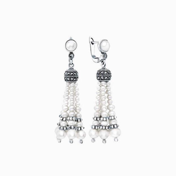 Волшебные украшения из серебра с марказитами в средневековом стиле
