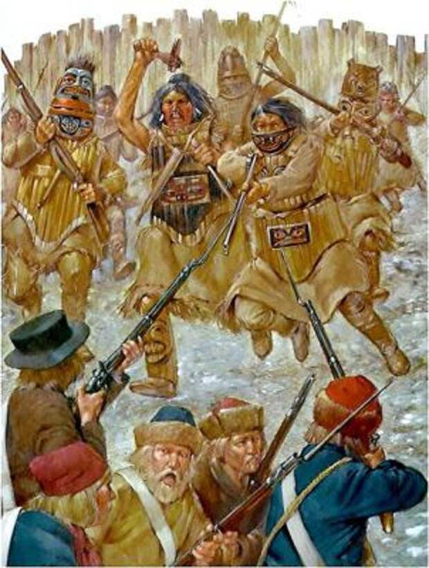 Как русские с индейцами воевали People Are Awesome, history