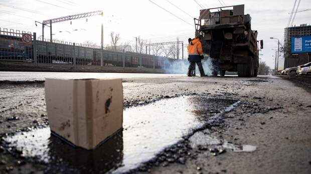 Можноли класть асфальт влужи, рассказали власти Ростова
