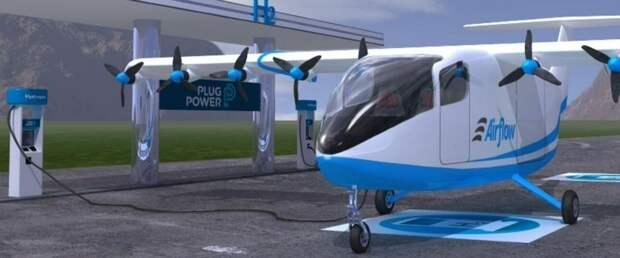 Plug Power профинансирует разработку водородного самолета Airflow