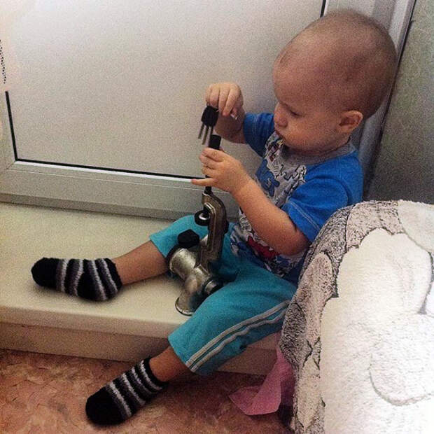 Я - мужик в доме! | Фото: Фишки.нет.