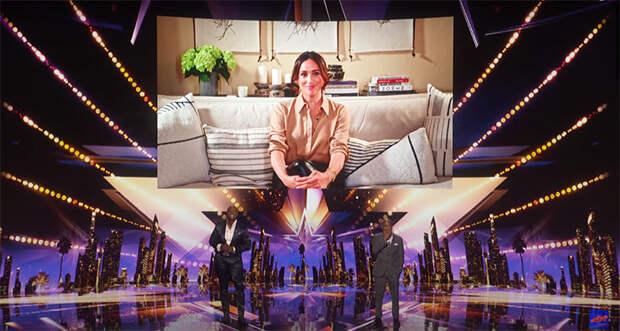 Меган Маркл вышла в эфир шоу America's Got Talent, чтобы поддержать уникального участника по имени Арчи