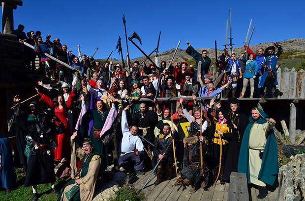 второй рыцарский турнир «Меч средневековья» 1