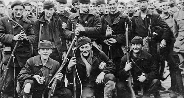 Американские солдаты в России