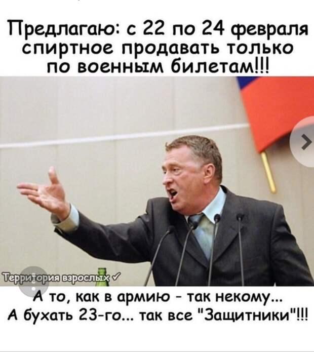 Жириновский о дне Защитника Отечества