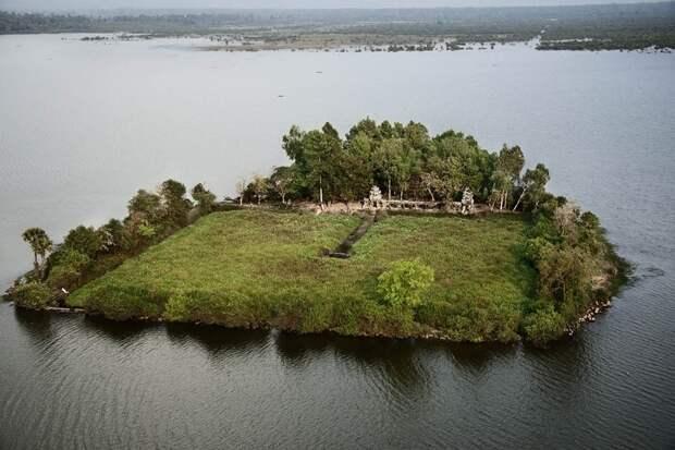 Грандиозный Западный Барай: рукотворное море Кхмерской империи в Ангкоре