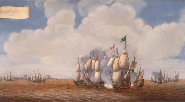 Датско-шведское морское сражение. johansfotoblogg.blogspot.com - Датский флот Нового времени: становление   Warspot.ru