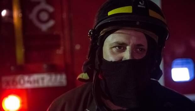 Квартира сгорела в Залинейном микрорайоне Подольска