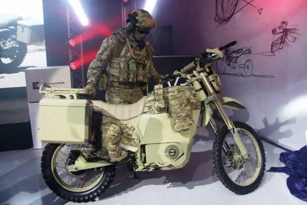 Военные мотоциклы снова входят в моду