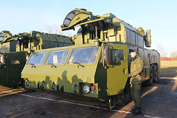 В Белоруссию прибыла третья батарея ЗРК «Тор-М2»