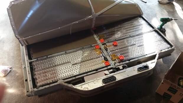 Из чего состоит батарея для Tesla Model S
